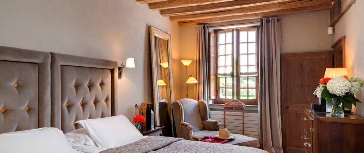 Suite Safran de l'hôtel La Borde