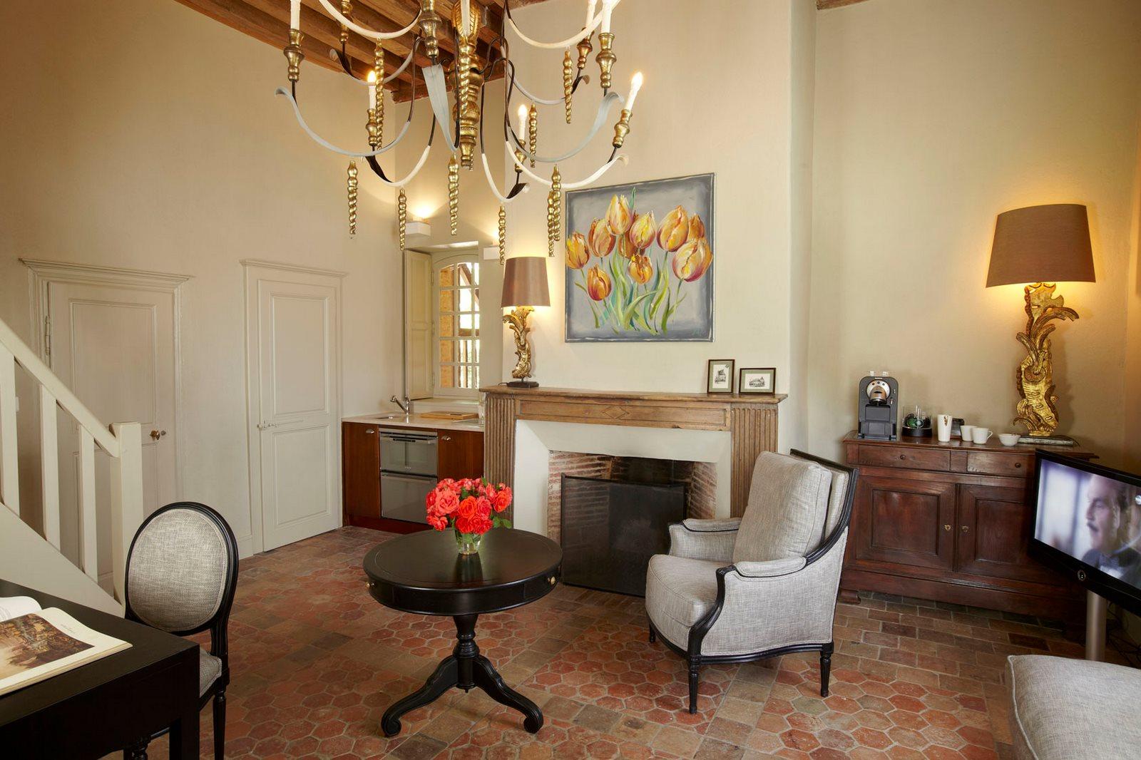 La Borde - Maison d'hôtes - suite Tulipe